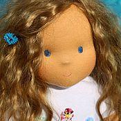 Куклы и игрушки ручной работы. Ярмарка Мастеров - ручная работа вальдорфская кукла  Александра 38-40 см. Handmade.