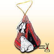 Сувениры и подарки handmade. Livemaster - original item Chum, ceramic bell. Handmade.