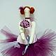 """Куклы Тильды ручной работы. Ярмарка Мастеров - ручная работа. Купить Тильда-толстушка """"Балерина"""". Handmade. Тильда, девочка, девушка"""