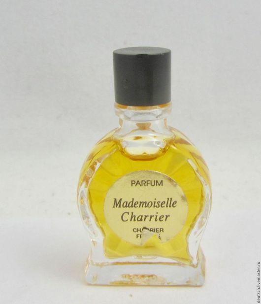 Винтажные предметы интерьера. Ярмарка Мастеров - ручная работа. Купить Mademoiselle Charrier  3ml  духи  винтажный парфюм миниатюра. Handmade.