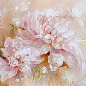Картины и панно handmade. Livemaster - original item Pastel flower. Handmade.