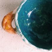 Посуда ручной работы. Ярмарка Мастеров - ручная работа Бульонница с лисьими хвостами. Handmade.