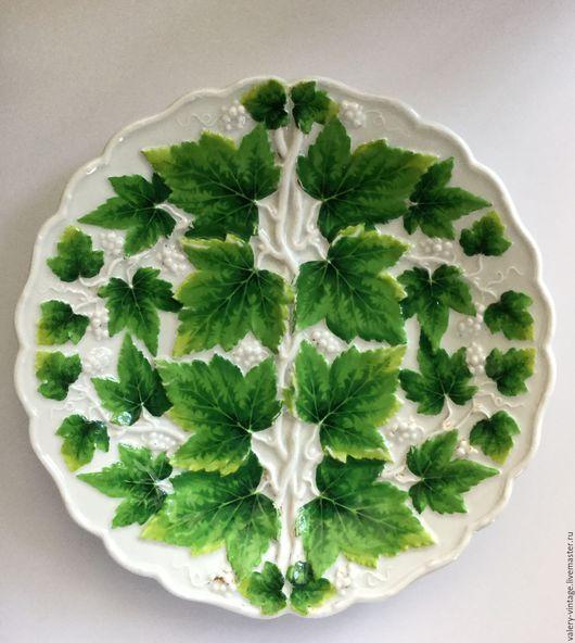 Винтажная посуда. Ярмарка Мастеров - ручная работа. Купить Тарелка Meissen.. Handmade. Meissen, блюдо, антиквариат, коллекционирование, старинная тарелка