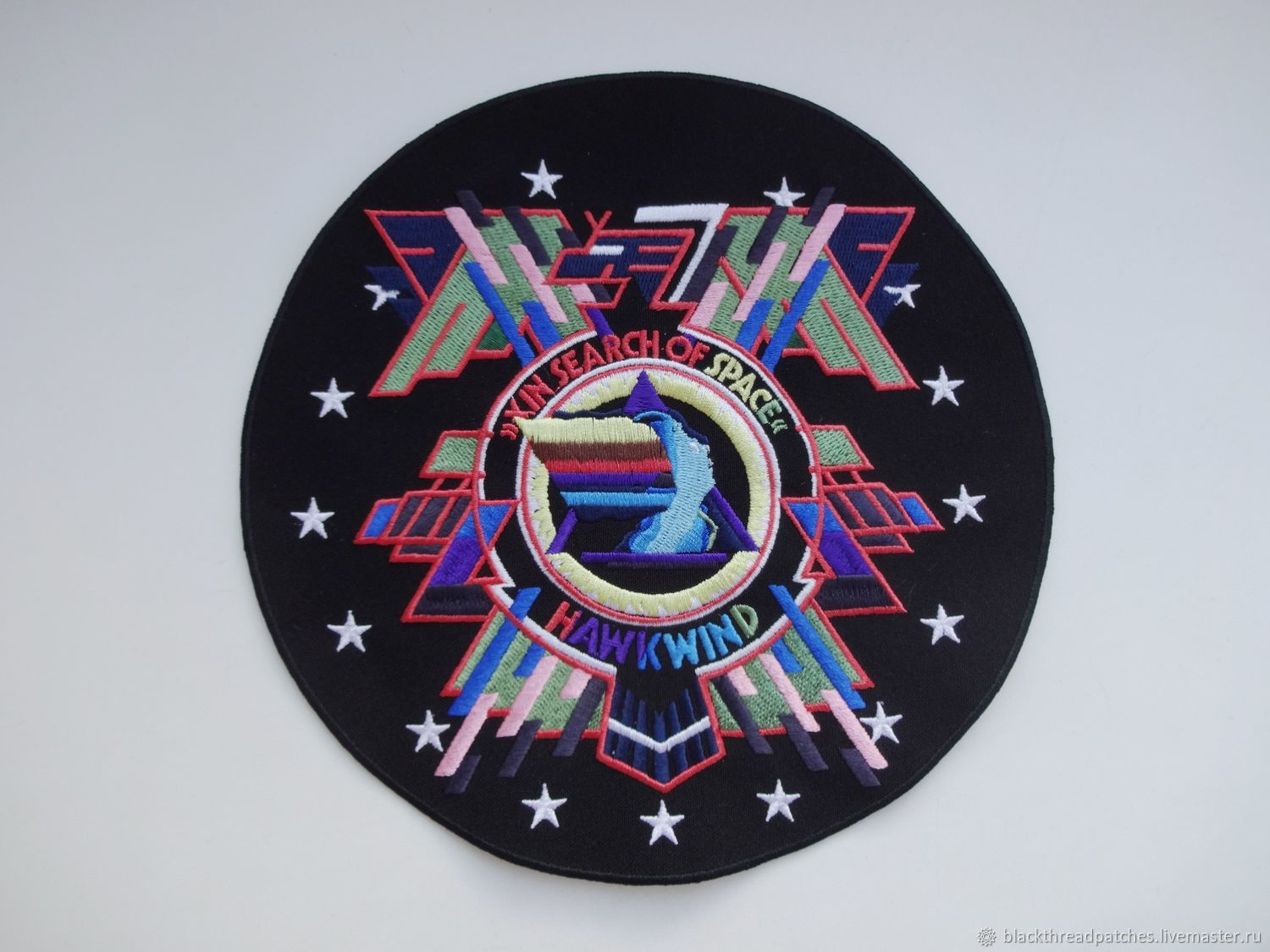 Hawkwind - In Search Of Space - backpatch, Patches, St. Petersburg,  Фото №1