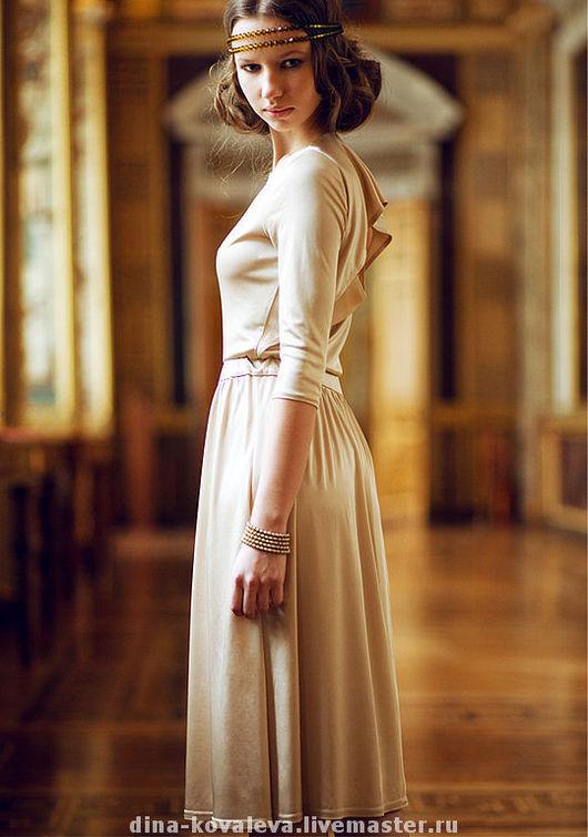 Платья ручной работы. Ярмарка Мастеров - ручная работа. Купить Платье золотое. Handmade. Платье, Коктейльное платье, выпускное платье