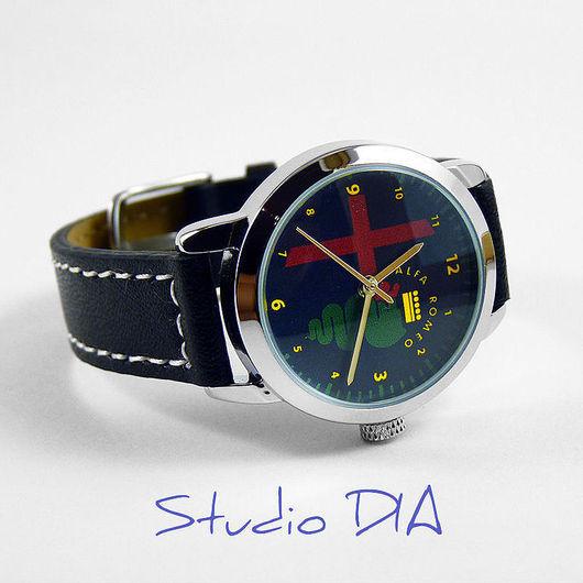 Оригинальные Дизайнерские Часы Alfa Romeo. Студия Дизайнерских Часов и Кулонов DIA.