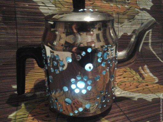 Освещение ручной работы. Ярмарка Мастеров - ручная работа. Купить чайник-светильник. Handmade. Белый, свет, оригинальный сувенир