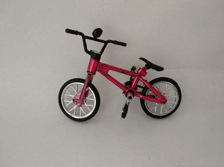 Велосипед кукольный, 10х5см, Материалы, Москва, Фото №1