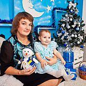 Куклы и игрушки ручной работы. Ярмарка Мастеров - ручная работа Снеговик большой. Handmade.
