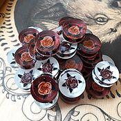 Сувениры и подарки ручной работы. Ярмарка Мастеров - ручная работа Фишки плекс розы. Handmade.