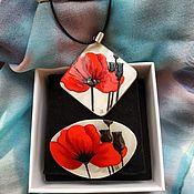 handmade. Livemaster - original item Poppy red. Handmade.
