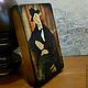 Репродукции ручной работы. Ярмарка Мастеров - ручная работа. Купить Панно на дереве Модильяни Портреты. Handmade. Коричневый, репродукция