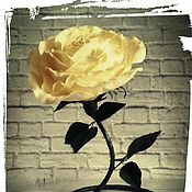 """Цветы и флористика ручной работы. Ярмарка Мастеров - ручная работа Интерьерная роза """"Искушение"""". Handmade."""