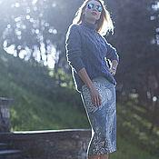 """Одежда ручной работы. Ярмарка Мастеров - ручная работа Свитер """"Кашемировые косы"""". Handmade."""