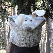 Аксессуары handmade. Livemaster - original item Beast Hat
