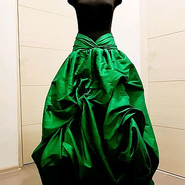 """Одежда ручной работы. Ярмарка Мастеров - ручная работа Юбка """"Зеленый перец"""". Handmade."""