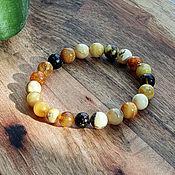 handmade. Livemaster - original item Amber. Bracelet