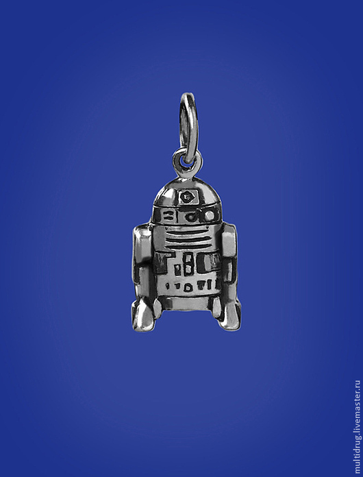 """Кулоны, подвески ручной работы. Ярмарка Мастеров - ручная работа. Купить Подвеска """"R2D2"""". Handmade. Серебряный, подвеска, звездные войны"""