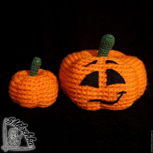 Подарки на Хэллоуин ручной работы. Ярмарка Мастеров - ручная работа. Купить Тыква к Хэллоуину. Handmade. Оранжевый, сувенир, интерьер, тыквы