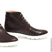 Обувь ручной работы. Ярмарка Мастеров - ручная работа Ботинки Peach. Handmade.