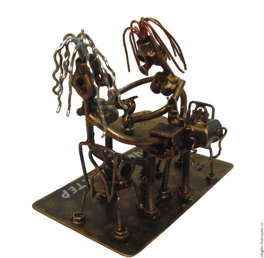 Миниатюрные модели ручной работы. Ярмарка Мастеров - ручная работа. Купить Мастер маникюра. Handmade. Скульптурная миниатюра, сувенир для парикмахера