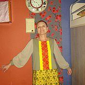 Одежда ручной работы. Ярмарка Мастеров - ручная работа Счастливое платье. Handmade.