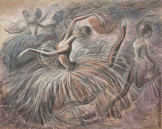 Лёгкий воздушный прыжок, невесомость прозрачных пачек...Ломаный рисунок рук и ног балетных танцовщиц передаёт всю экспрессивность испанского танца и главных героинь балета