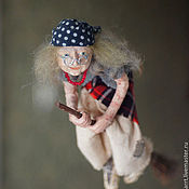 Куклы и игрушки handmade. Livemaster - original item Baba Yaga -Good spirit art doll. Handmade.