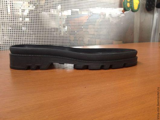 Другие виды рукоделия ручной работы. Ярмарка Мастеров - ручная работа. Купить Подошва для  мужской обуви DOPPIO. Handmade. Черный