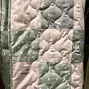 Детское одеяло в лоскутной технике