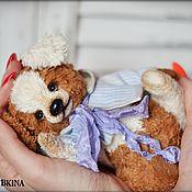 Куклы и игрушки handmade. Livemaster - original item Teddy Bears: Teddy Zveryata: puppy Bonya. Handmade.