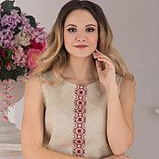 Одежда handmade. Livemaster - original item Blouse linen Bereginya. Handmade.