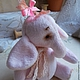 Игрушки животные, ручной работы. Ярмарка Мастеров - ручная работа. Купить Розовый бантик))). Handmade. Розовый, слоненок, тедди слоник