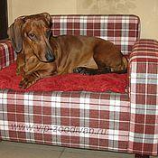 """Для домашних животных, ручной работы. Ярмарка Мастеров - ручная работа Диванчик для собаки или кошки """"Шотландия"""". Handmade."""