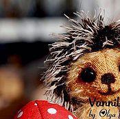Куклы и игрушки ручной работы. Ярмарка Мастеров - ручная работа Ежик Вовка. Handmade.