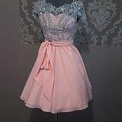 Одежда ручной работы. Ярмарка Мастеров - ручная работа Платье на выпускной бал. Handmade.