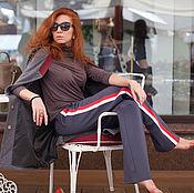Одежда ручной работы. Ярмарка Мастеров - ручная работа Спортивные брюки с лампасами. Handmade.
