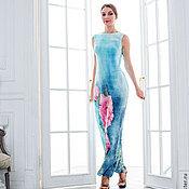 Одежда ручной работы. Ярмарка Мастеров - ручная работа Тонкое валяное платье Пион. Handmade.