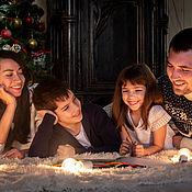 Фото ручной работы. Ярмарка Мастеров - ручная работа Новогодняя семейная фотосессия. Handmade.