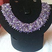 Украшения handmade. Livemaster - original item Necklace with amethyst. Handmade.