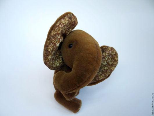 Мишки Тедди ручной работы. Ярмарка Мастеров - ручная работа. Купить Слон Шоко. Handmade. Коричневый, игрушка тедди