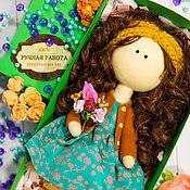 Текстильная кукла Мари. Интерьерная кукла. Коллекционная кукла.