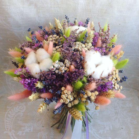 """Букеты ручной работы. Ярмарка Мастеров - ручная работа. Купить Букет """"Аметист"""". Handmade. Флористика, букет цветов, цветы, прованс"""