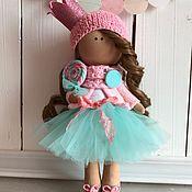 Куклы и игрушки ручной работы. Ярмарка Мастеров - ручная работа Интерьерная текстильная кукла Принцесска. Handmade.