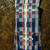 Одежда ручной работы. Ярмарка Мастеров - ручная работа Шерстяное платье,повседневное платье,свободное платье,платье в клетку. Handmade.