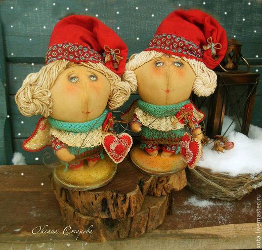 """Ароматизированные куклы ручной работы. Ярмарка Мастеров - ручная работа. Купить По мотивам """"Любви хранитель"""". Handmade. Ярко-красный"""