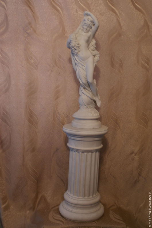Элементы интерьера ручной работы. Ярмарка Мастеров - ручная работа. Купить скульптура девушки. Handmade. Скульптура, фигурка