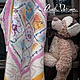 """Пледы и одеяла ручной работы. Ярмарка Мастеров - ручная работа. Купить Детское одеяло валяное """" Мегги """". Handmade."""