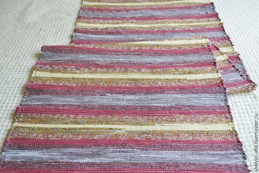Текстиль, ковры ручной работы. Ярмарка Мастеров - ручная работа. Купить Половик ручного ткачества (№ 70). Handmade. Разноцветный