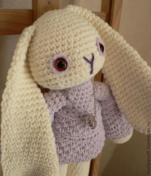 Игрушки животные, ручной работы. Ярмарка Мастеров - ручная работа. Купить Белый кролик Лили. Handmade. Кролик, интерьерная кукла